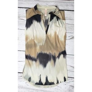 Sweet Pea Sheer Summer Blouse, Size XS